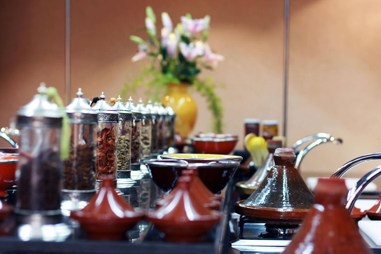 La maison arabe mint morocco for Ateliers de cuisine de la maison arabe