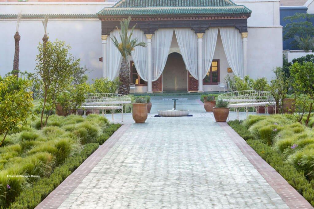 The secret garden a paradise in the medina mint morocco for Jardin secret 2015