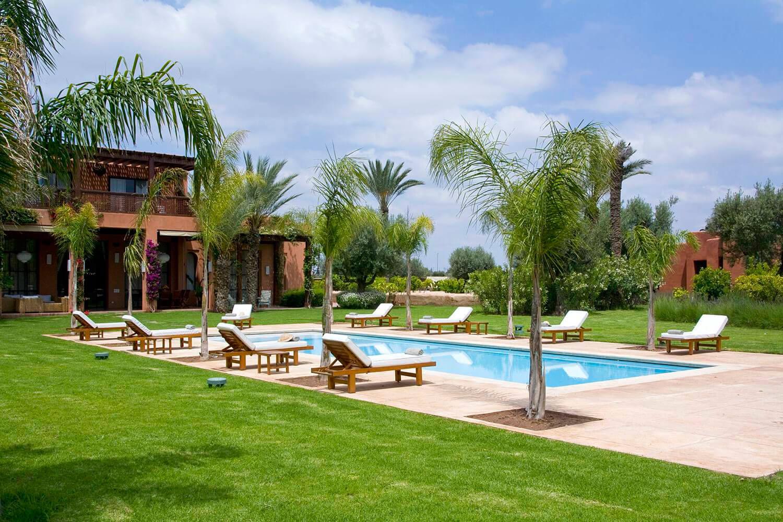 villa jardin des roses marrakech medina 6 bedroom villa mint morocco - Jardin Marrakech