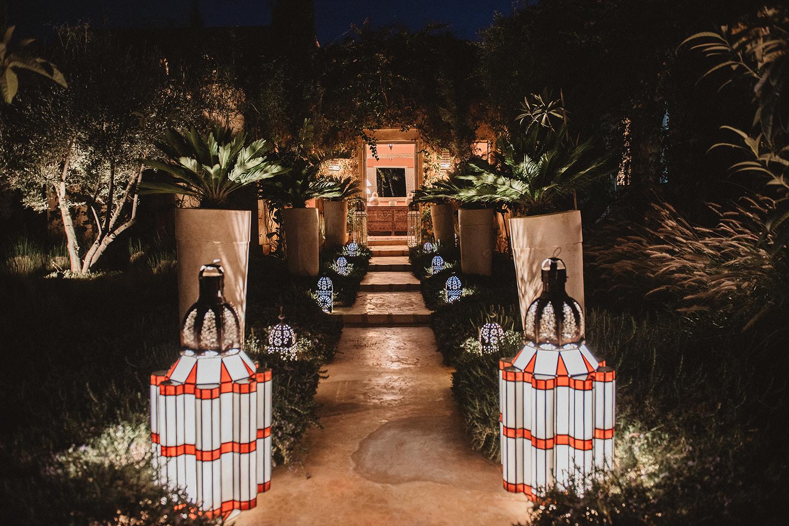 Luxury staffed villa Marrakech