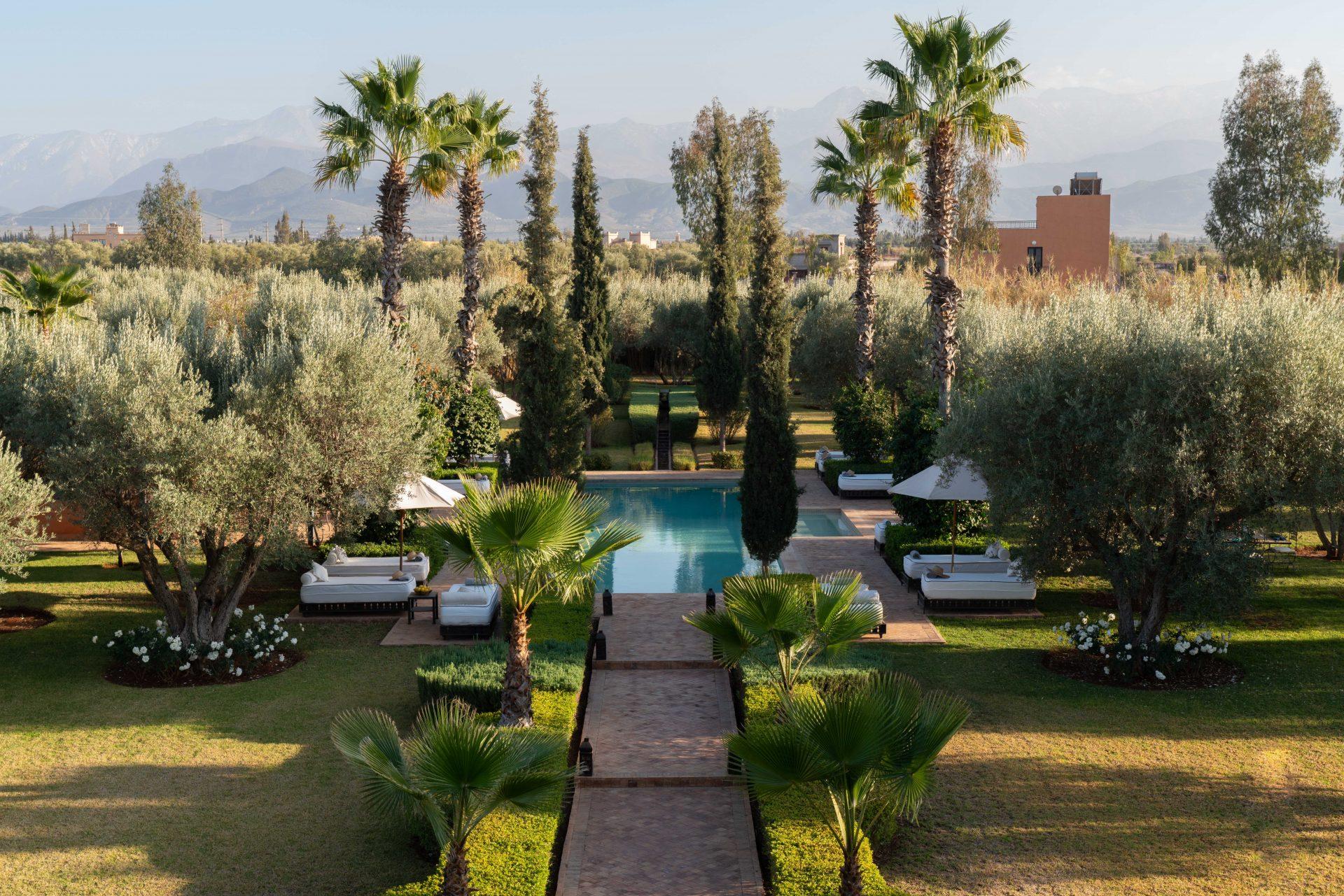 Large private villa Morocco