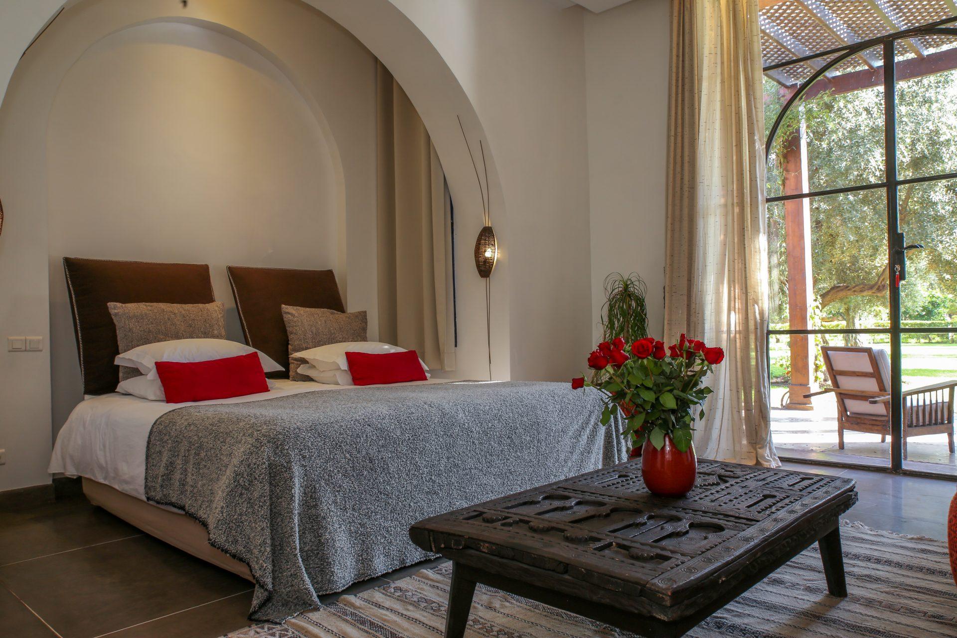 Luxury villa Marrakech with chef